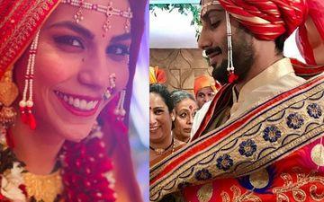 एक दूसरे के हुए प्रतिक बब्बर और सान्या सागर, शादी की तस्वीरें आई सामने