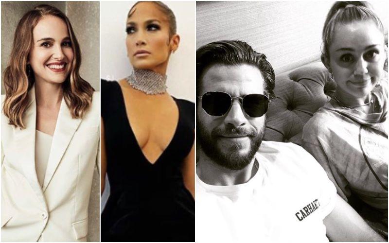 Pre-Oscar Parties 2020: Jennifer Lopez, Natalie Portman, Estranged Couple Miley Cyrus And Liam Hemsworth Get Gorgeous