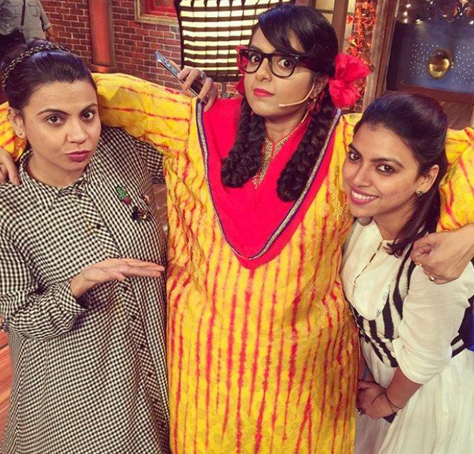 preeti with sister neeti simoes and sugandha mishra