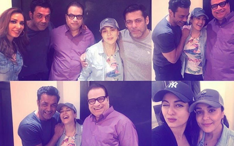 BIRTHDAY SURPRISE: Salman, Iulia, Bobby & Sonakshi's Special Gesture For Preity Zinta!