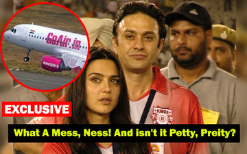 Preity Zinta Stopped From Boarding GoAir Flight Due To Ex-Boyfriend Ness Wadia's Orders. SHOCKING!
