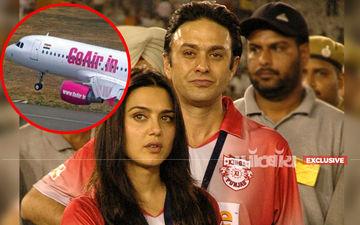 एक्स बॉयफ्रेंड नेस वाडिया के आदेश पर प्रीति जिंटा को गो एयर ने फ़्लाइट में जाने से रोका