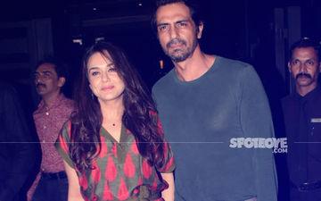 Preity Zinta & Arjun Rampal Spotted Dining At Bandra, View Pics