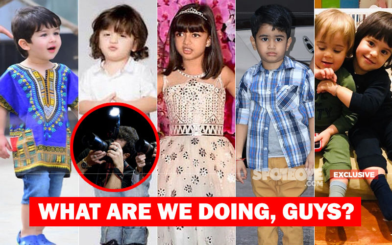 Pressure By Editors And Greed Of Photographers Is Torturing Taimur And Many Other Star Kids