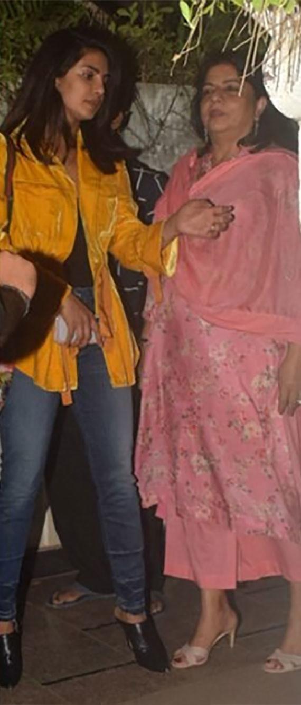 Priyanka Chopra With Her Mom