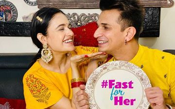 Karwa Chauth 2020: After Recovering from COVID-19, Prince Narula Fasts For Wife Yuvika Chaudhary; Couple Soaks In Festive Vibes
