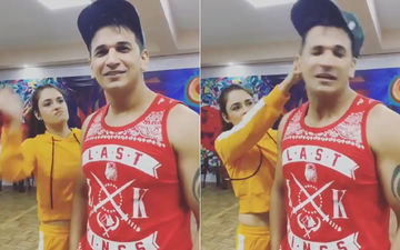 Nach Baliye 9: Yuvika Chaudhary Slaps Prince Narula During Rehearsals - Watch Video
