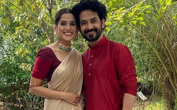 Priya Bapat Showers Love On Hubby Umesh Kamat As They Embark On The New Year