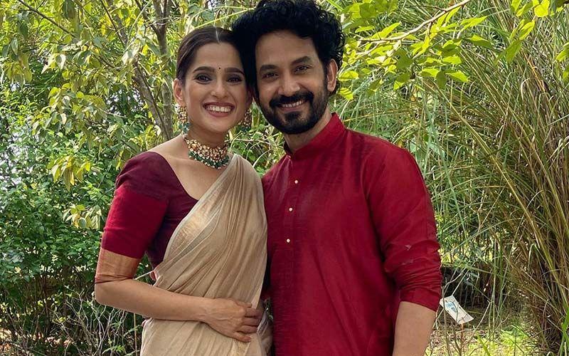 Priya Bapat Showers Love On Hubby Umesh Kamat As They Embark On The New Year