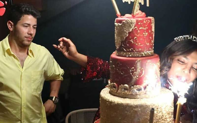 Priyanka Chopra's Red And Gold 24K Birthday Cake's Exorbitant Price Will Leave You SHOCKED