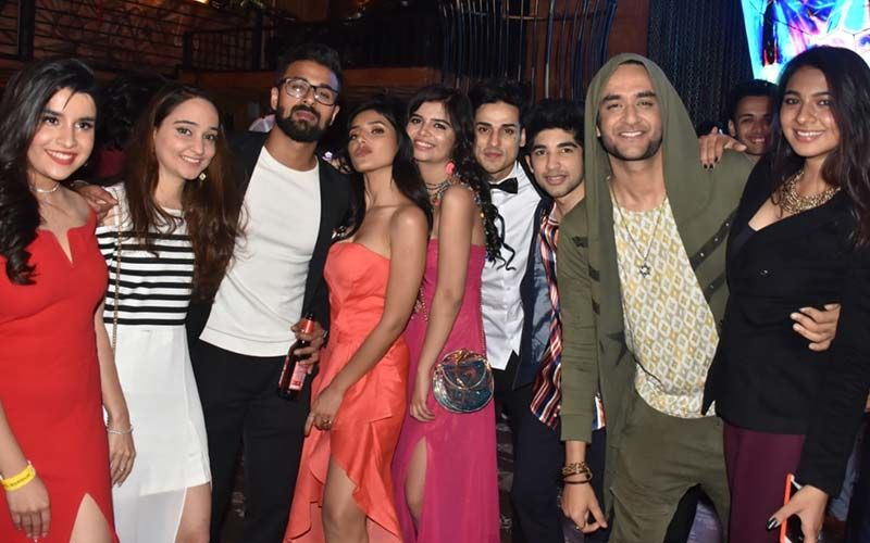 Priyank Sharma, Harshita Gaur, Ankita Lokhande, Arjun Bijlani Glam Up Puncch Beat's Prom Night