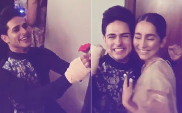 Priyank Sharma Goes Down On Knees With A Red Rose; Says, 'I Love You' To Karan Kundra's Girlfriend, Anusha Dandekar