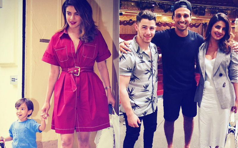 Lunch With Li'l Ahil, Dinner With Nick Jonas – Priyanka Chopra's Dates In NYC