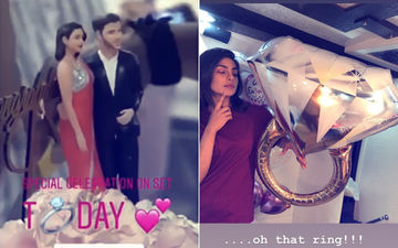 Inside Picture & Video: Priyanka Chopra's Engagement Celebrations On The Sets Of The Sky Is Pink