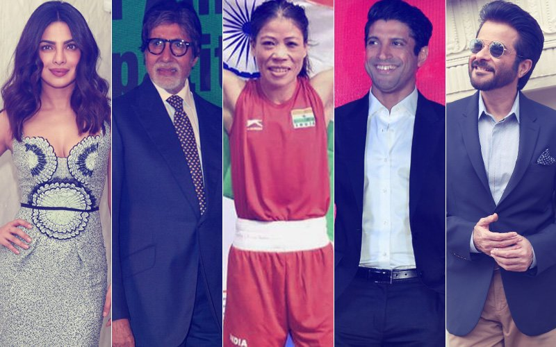 Priyanka Chopra, Amitabh Bachchan, Farhan Akhtar, Anil Kapoor Congratulate Mary Kom For Asian Boxing Championships Gold