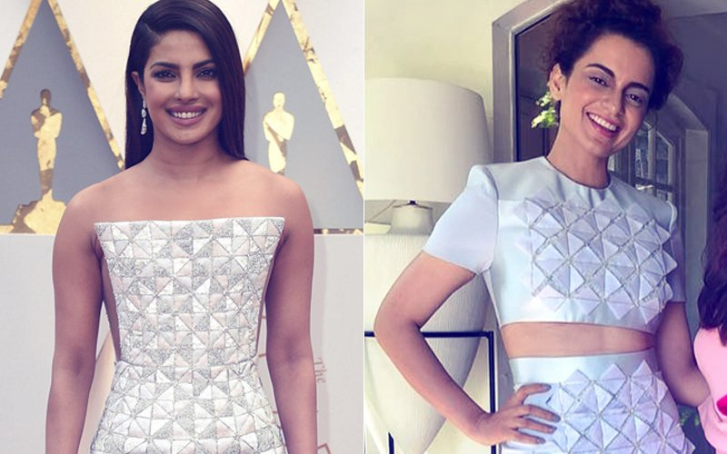 Cannes 2018: Kangana Ranaut Takes Inspiration From Priyanka Chopra's Oscar 2017 Gown