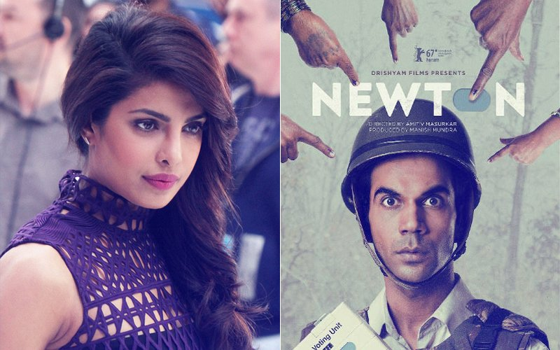 Is Priyanka Chopra UNHAPPY With Rajkummar Rao's Newton's Selection For The Oscars?