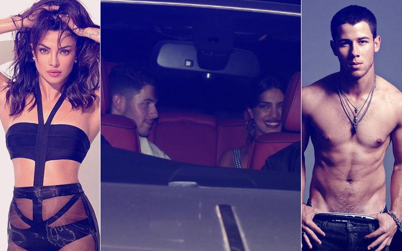 Caught! Priyanka Chopra With Boyfriend Nick Jonas Coming Out Of Her House