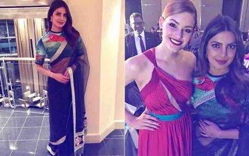 Priyanka Chopra Stuns In A Sabyasachi Mukherjee Saree At UNICEF's Fundraising Gala