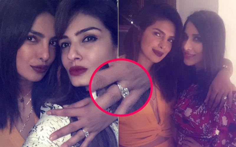 Priyanka Chopra Flaunts Engagement Ring. Finally, No Inhibitions!