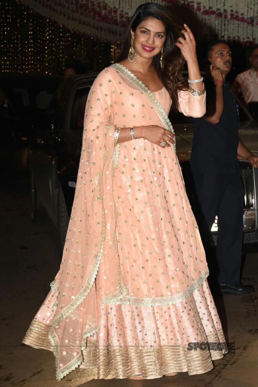 priyanka chopra at ambani ganpati celebration