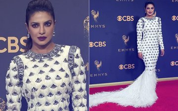 Priyanka Chopra Shines & Shimmers At Emmys 2017 Red Carpet