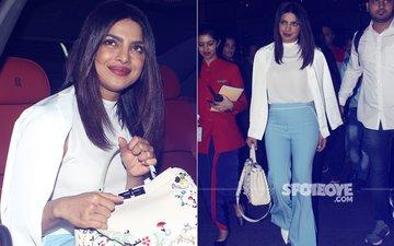 Pics: Priyanka Chopra Returns To India Feeling All 'Blue'...