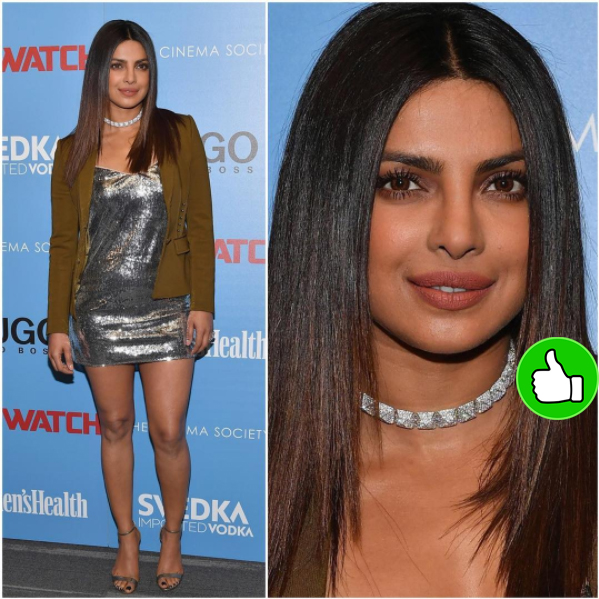 priyanka chopra baywatch promotions in la