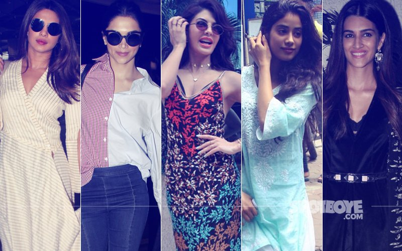 STUNNER OR BUMMER: Priyanka Chopra, Deepika Padukone, Jacqueline Fernandez, Jhanvi Kapoor Or Kriti Sanon?
