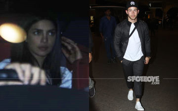 Priyanka Chopra Drops Hubby Nick Jonas At  Airport As He Heads Back To USA