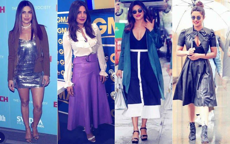 Priyanka Chopra Rocks 4 Looks In 1 Day For Baywatch Premiere & Promotions