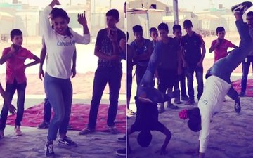 WATCH: Why Is Priyanka Chopra Doing Cartwheels In Jordan?