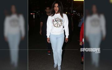 Priyanka Chopra Is Back In Mumbai And Is Calling For Peace - PICS