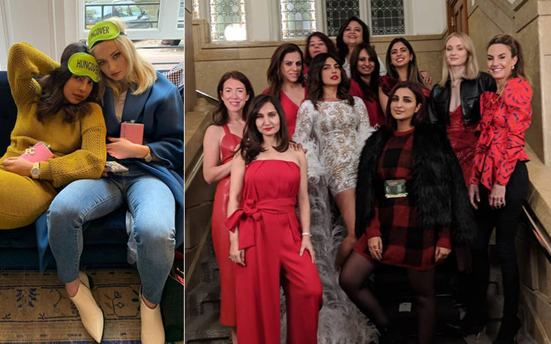 Priyanka Chopra Is 'Hungover' After Her Bachelorette: Pictures Of Actress' Crazy Night With Her Girl Gang