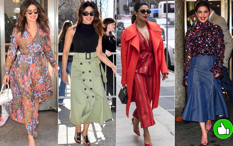 priyanka chopra latest attires