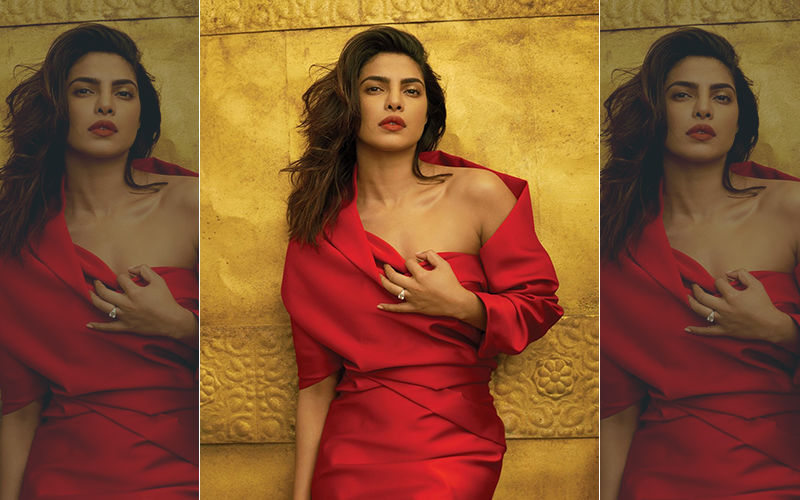 Priyanka Chopra Looks Smokin' Hot On The Vogue Cover