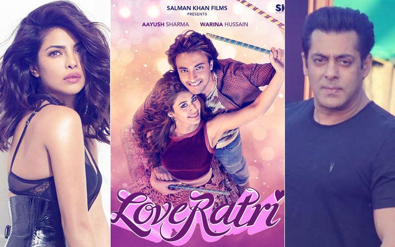 Priyanka Chopra Leaves Bharat Controversy Behind; Congratulates Salman Khan's Loveratri Team