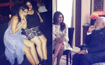 Priyanka Chopra's Befitting Reply After Getting Trolled For Showing Her Legs In Front Of PM Narendra Modi
