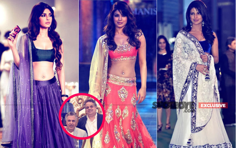 Priyanka Chopra Meets Abu Jani-Sandeep Khosla For 6 Hours To Finalise Her Wedding Lehenga!