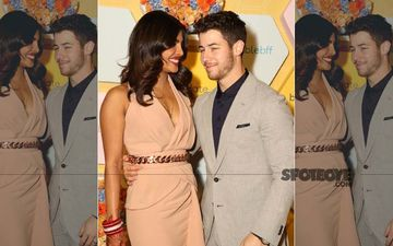 Priyanka Chopra-Nick Jonas Arrive At The Bumble Launch Party, And We Can't Take Our Eyes Off Them
