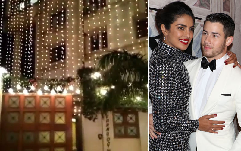 Priyanka Chopra-Nick Jonas Wedding: Desi Girl's Home All Lit Up, Shehnai Bajne Mein Ab Der Nahin