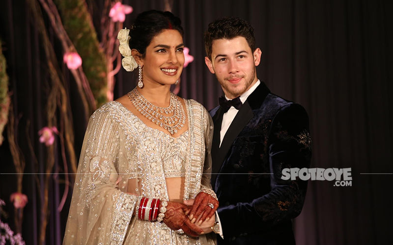 Priyanka Chopra Nick Jonas Wedding Reception Live Updates Couple
