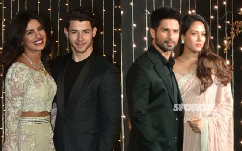 Priyanka Chopra-Nick Jonas Wedding Reception: Surprise! Shahid Kapoor-Mira Rajput Walk In To Wish The Couple Of The Night