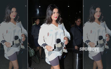 Priyanka Chopra Our Desi Girl Is Back In India For The Promotions Of The Sky Is Pink