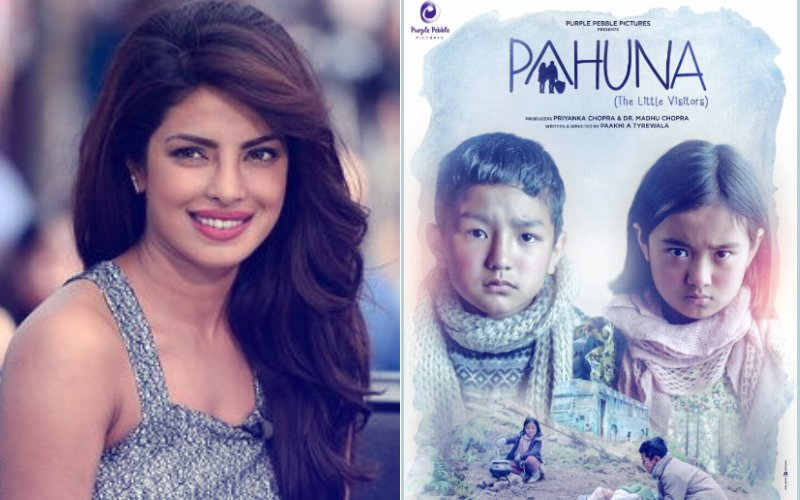 Priyanka Chopra Unveils The First Look Of Her Upcoming Venture Pahuna at Cannes