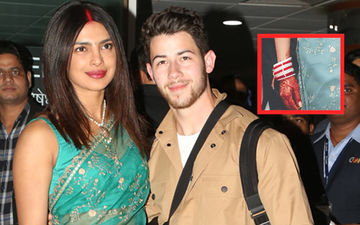 Priyanka Chopra's Bridal Mehendi Had Something Special Sketched For Nick Jonas