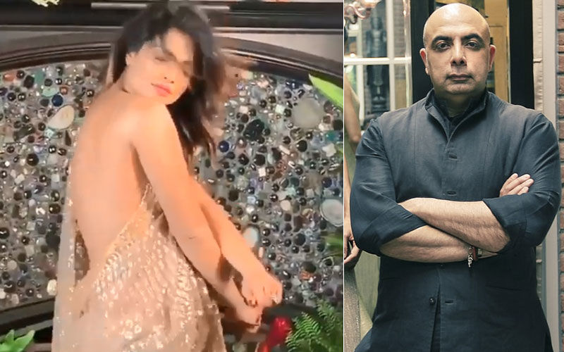 "Priyanka Chopra's Designer Defends Actress' Blouse-Less Act: ""Not Using A Choli Makes It A Global Statement"""