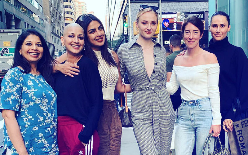 Priyanka Chopra's Girls' Day Out with Sonali Bendre And Would-Be Sister-In-Law, Sophie Turner