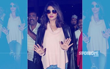 Look Who's Back Home! Priyanka Chopra Arrives In Style At Mumbai Airport
