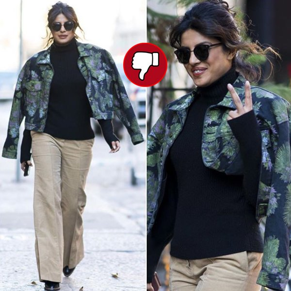 priyanka chopra snapped in hollywood